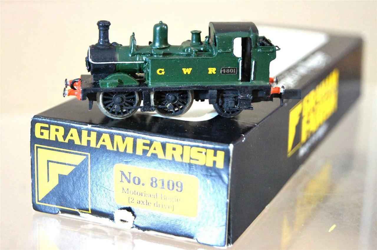 GRAHAM FARISH 8109 LANGLEY KIT BUILT GW GWR 042 classe 1400 TANK LOCO 4801 mz