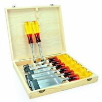 Irwin Marples Mar373s8 Splitproof B/e Chisel Set Of 8