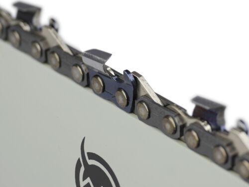 """Espada 2 cadenas adecuado para Husqvarna 357 45 cm 325/"""" 72 TG 1,5 mm sierra cadena"""
