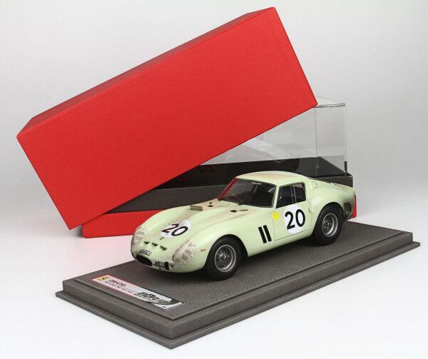 Ferrari 250 GTO 24h le mans 1962 lim.ed.32 pcs 1 18 BBR1809DAYDIRTY