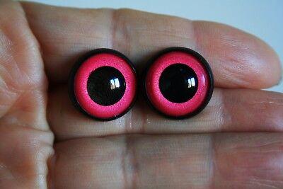 Yeux de sécurité 14 mm peluche poupées amigurumi artisanat
