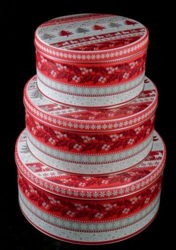 Gebäckdose 3er set plätzchendose Cookie Jar lata navidad niños motivo