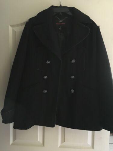 Woman's Miss Sixty Black Coat