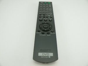 Sony-DVD-Remote-Control-RMT-D165A