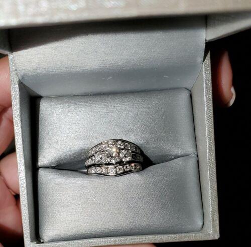 Zales 3 Piece Wedding Ring Set