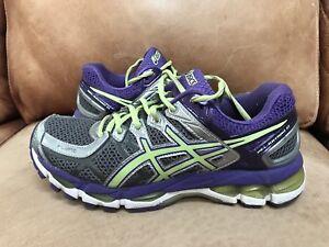sports shoes 97fa3 dba2e Image is loading Women-039-s-ASICS-Gel-Kayano-21-Running-