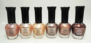 6 PCs Kleancolor Natural Color Nail Polish Set!414243445861 | eBay