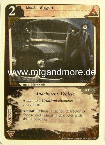 1x Meat Wagon  #077 Call of Cthulhu