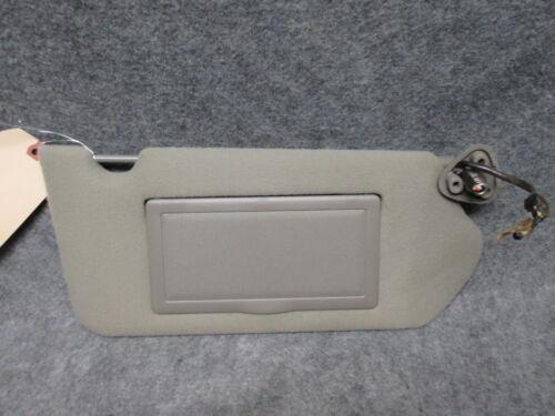 2000-2005 Chevy Impala RH Passenger Lighted Sun Visor w// Mirror Gray Cloth 20423