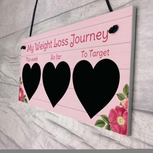 Weight Loss Tracker Board Chalkboard Sign Weight Loss Reward Gift For Friend