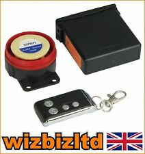 Security Motorcycle Alarm With Remote Control Mammoth (12v 120db) ALAREM12