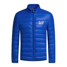 a8045214145001 item 6 EA7 EMPORIO ARMANI DOWN JACKET 100 GRAMS Royal blue mis-XS -EA7  EMPORIO ARMANI DOWN JACKET 100 GRAMS Royal blue mis-XS