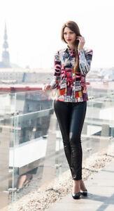 Damen Elegante Bluse Langarm Hemdbluse Gr.36 Lissa Mehrfarbig NEU !!! - Cloppenburg, Deutschland - Damen Elegante Bluse Langarm Hemdbluse Gr.36 Lissa Mehrfarbig NEU !!! - Cloppenburg, Deutschland