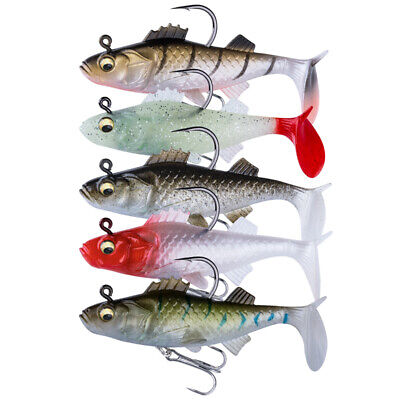 """3X Lures 3.35/"""" Jig Heads Fishing Bait Tackle"""