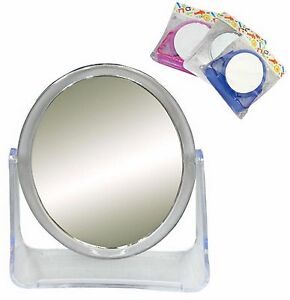 Double Sided Compact Travel Shaving Makeup Mirror