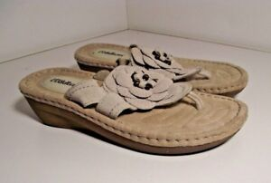 866e4618fcf Image is loading Women-s-Cobbie-Cuddlers-Miracle-Wedge-Sandals-Size-