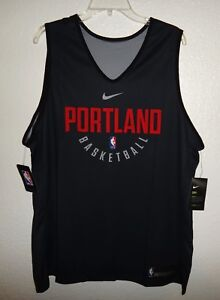 best service 0f63d 7f308 Details about NWT XL 52 AUTHENTIC NIKE PORTLAND TRAIL BLAZERS REVERSIBLE  PRACTICE JERSEY NBA