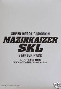 Used Bandai SUPER ROBOT Chogokin MazinKaiser SKL Starter Pack From Japan