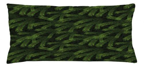 Winter Kissenbezug Kiefern-Tannen-Nadelbaum Digitaldruck