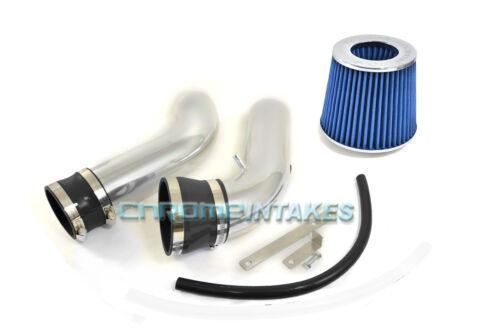 BLACK BLUE 04 05 06 07 08 09-12 JEEP LIBERTY 3.7 3.7L V6 COLD AIR INTAKE KIT 2