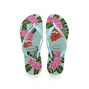 499e30617 Image is loading Ladies-Girls-Havaianas-Slim-Floral-Flat-Flip-Flop-