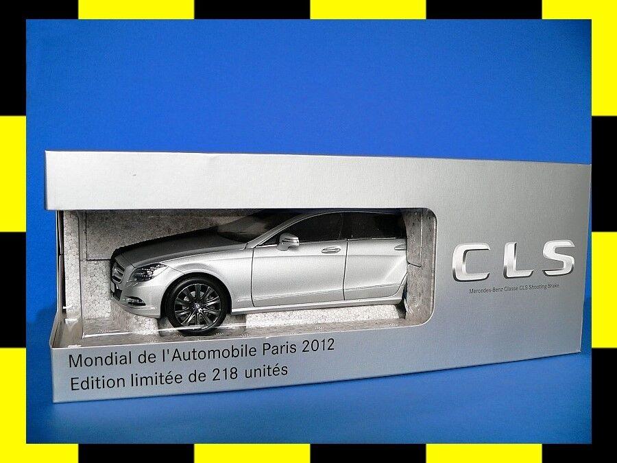 Mercedes CLS Shooting Brake X218 PARIS 2012 designo alubeam silber NOREV 1 18  | Outlet Online