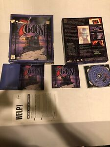 The 7th Guest **Trilobyte** USA PC Big Box CD FMV Puzzle Adventure complete