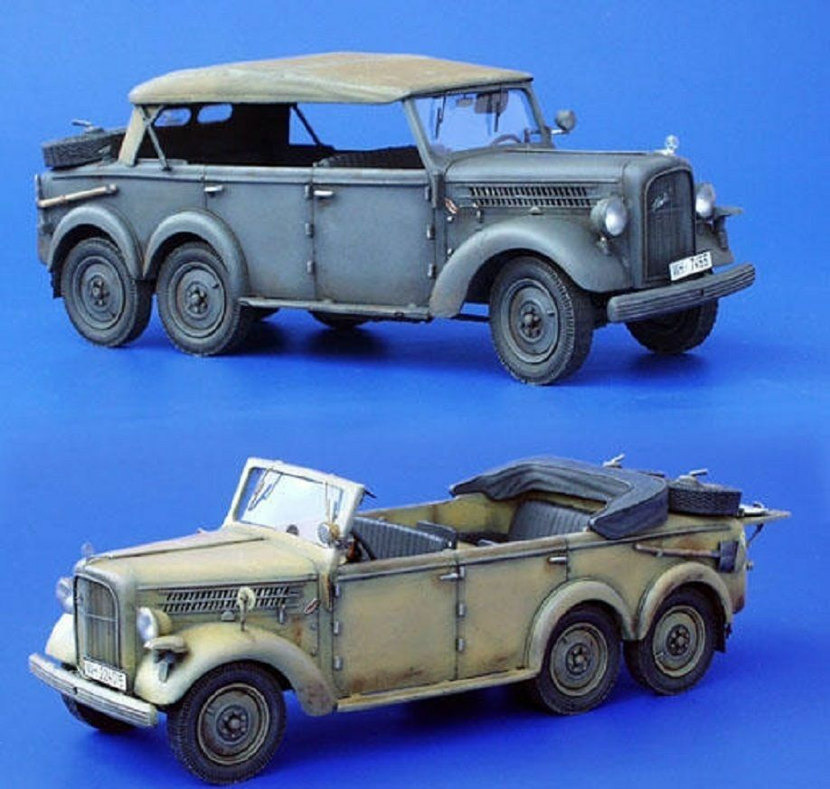 PLUS MODEL COMPLETE KIT SKODA 903 STAFF CAR WWII Scala 1 35 Cod.PL105