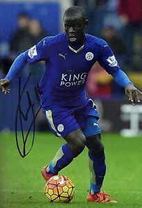 N-039-Golo-Kante-Signed-12X8-Photo-Leicester-City-F-C-Genuine-COA-AFTAL-1633