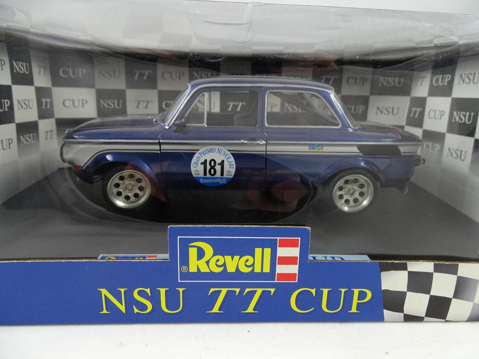 1 18 REVELL  08435 NSU TT Racing  181 D.Eitel  - RARITÄT neu §  | Authentische Garantie