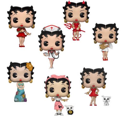 Vinyl Figures-infirmière Betty Boop FUNKO POP Sirène /& more!