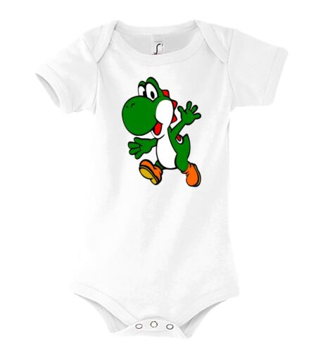 TRVPPY Baby Body Strampler Yoshi Luigi Mario Super Toad Kinder Shirt