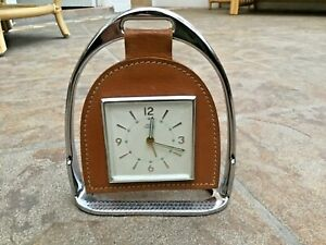 Smiths Empire Stirrup Clock. Equestrian Collectable Vintage Retro