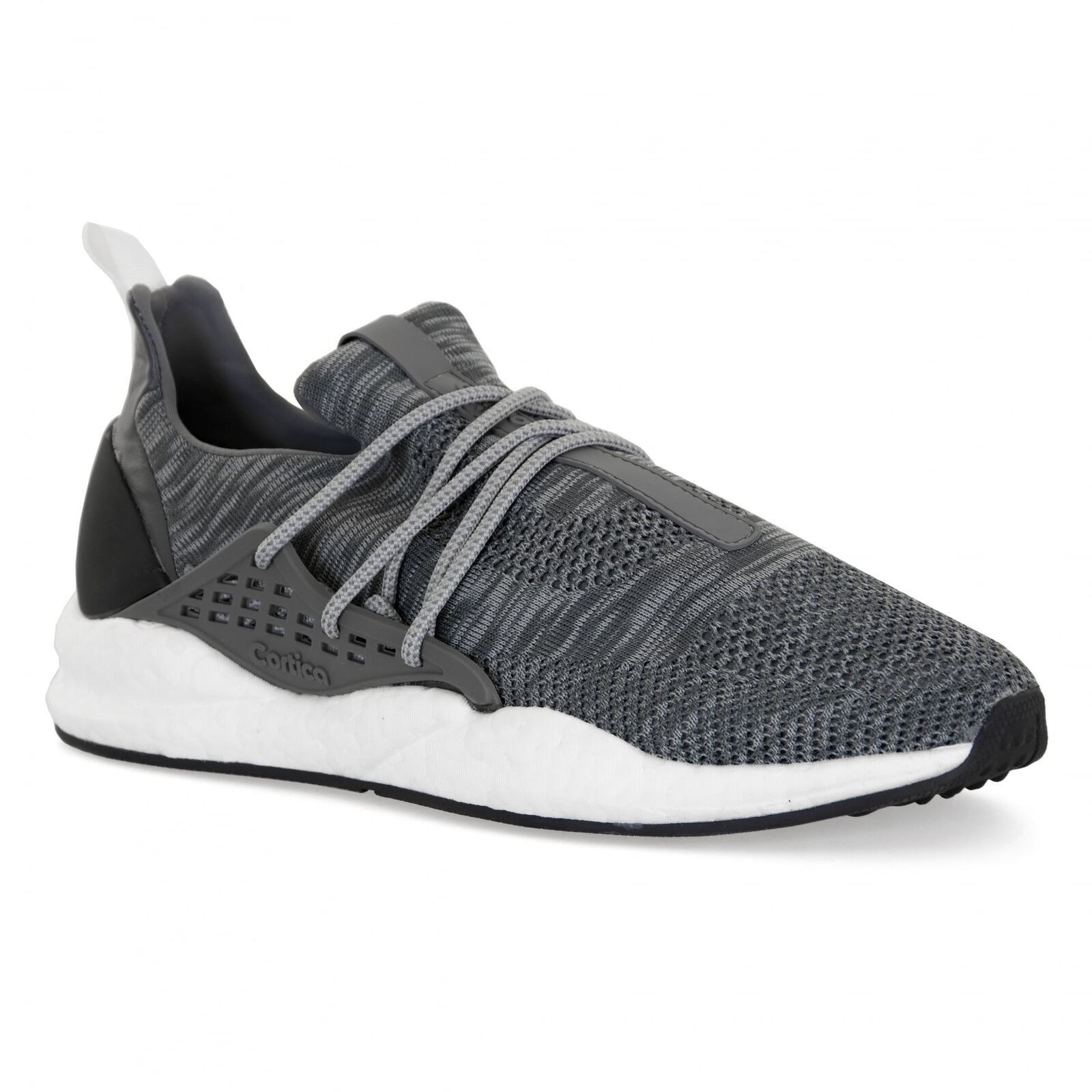 Cortica Mens Intuous Knit 317 Trainers (Grey)
