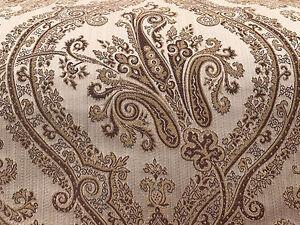 Gold Damask Upholstery Fabric 2 75 Yds Ebay