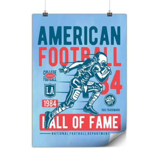 American Football Sport Matte//Glossy PosterWellcoda