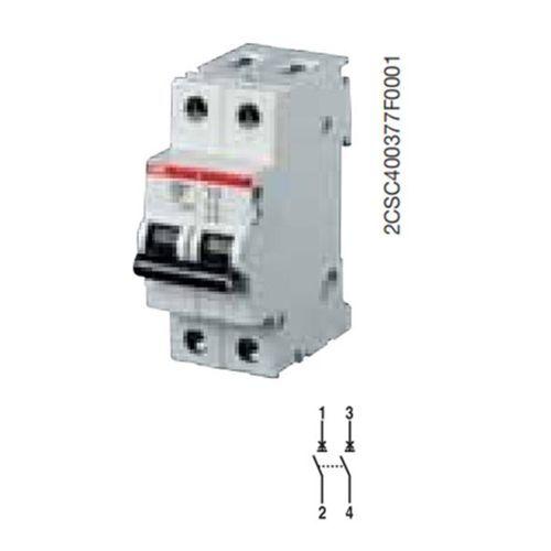 Abb S550314 S202M C20 Schalter Automatisch 10KA 2P