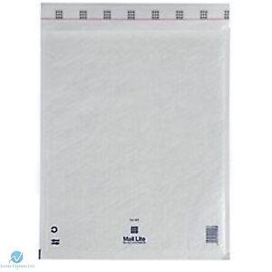 G4 G/4 White 240 x 330 mm Padded Bubble Wrap Mail Lite Postal Bag Envelopes NEW