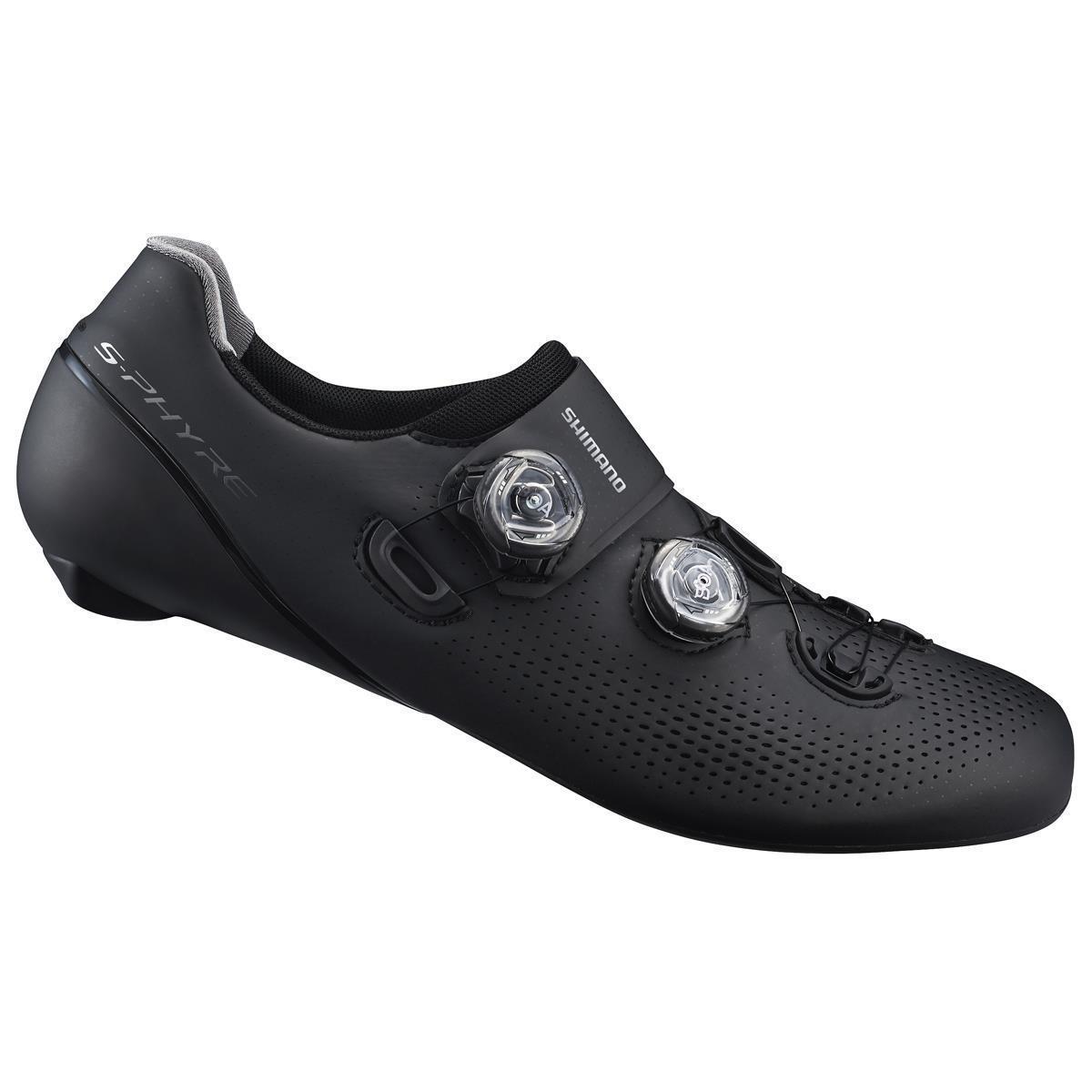 Zapatos de Calle S-Phyre rc9 sh-rc901sb1 Negro 2019 Shimano Zapatos de Bicicleta