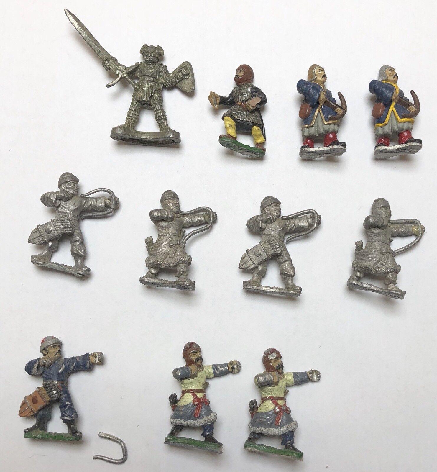 buscando agente de ventas Essex Essex Essex Lote de 11 soldados de tiro con arco mongol Medieval De Metal Hombres De Guerra En Miniatura  Las ventas en línea ahorran un 70%.