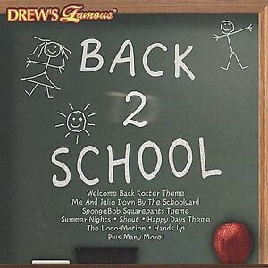 FREE US SHIP. on ANY 3+ CDs! NEW CD Various Artists: Drew's Famous Back 2 School