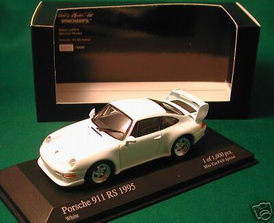 Porsche 911 Rs Club Sport 2018 Mini coche divertido Blanco