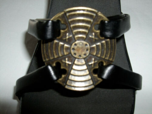 """Onesole Interchangeable Top /""""Strappies/"""" Bronze Stone    CLOSE OUT"""