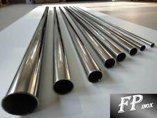 Tube inox 25mm x 1.5mm x 1 mètre Poli Miroir 316