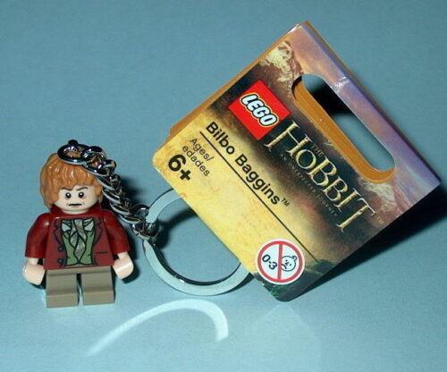 KEY CHAIN Lego The Hobbit Bilbo Baggins  NEW with Tags LOTR Genuine Lego 850680