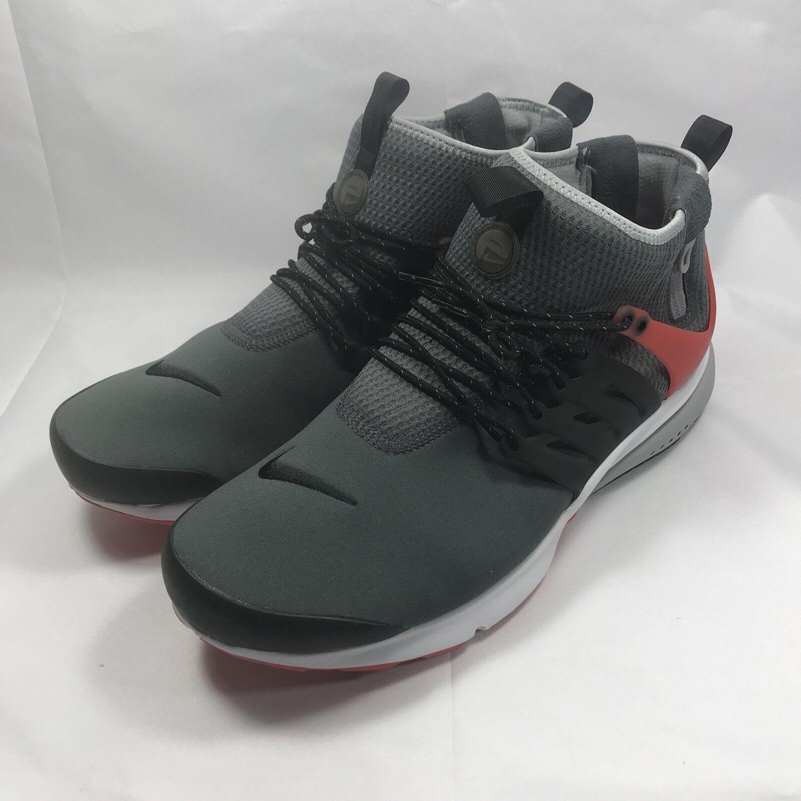 Nike air max hopp mitte utility dunkelgrau orange schwarzen schuh größe. 59ff67933b