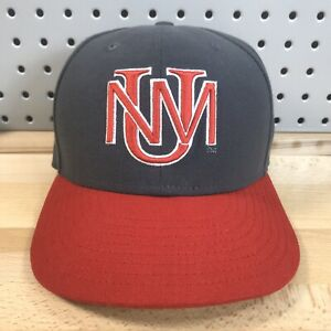 New-Mexico-Lobos-NCAA-College-New-Era-59FIFTY-Grey-Fitted-Hat-Size-7-1-8-Cap