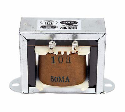 1x AC Power Choke Filter Inductor 10H 50mA R=330Ω EI76 Z11 core 12AX7 12AU7 EF86