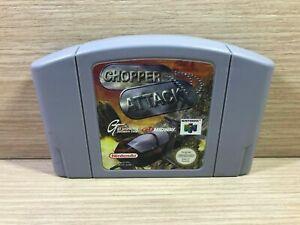 Chopper attack N64 Nintendo 64 PAL España