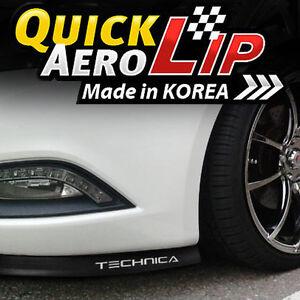 7-5-Feet-Front-Bumper-Spoiler-Chin-Lip-Splitter-Valence-Trim-Body-Kit-for-KIA